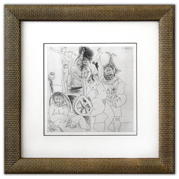 """Pablo Picasso- Offset Lithograph """"From The 347 Series"""""""