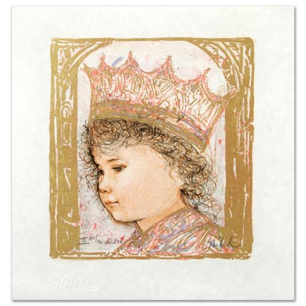 """""""Celia"""" Limited Edition Lithograph by Edna Hibel (1917-2014), Numbered and Hand Signed with Certific"""