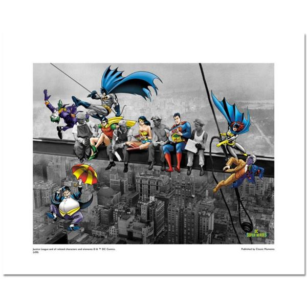 """""""DC Lunch Break"""" Numbered Limited Edition Giclee from DC Comics with Certificate of Authenticity."""