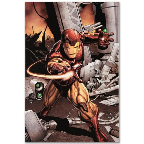 """Marvel Comics """"Marvel Adventures: Super Heroes #1"""" Numbered Limited Edition Giclee on Canvas by Clay"""