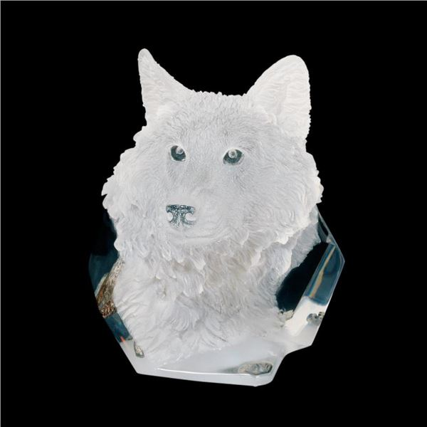 """Kitty Cantrell, """"Devotion"""" Limited Edition Mixed Media Lucite Sculpture with COA."""
