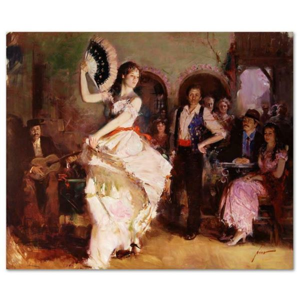 """Pino (1939-2010), """"The Last Dance"""" Artist Embellished Limited Edition on Canvas (46"""" x 38""""), AP Numb"""