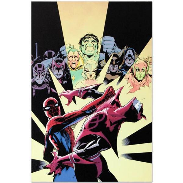 """Marvel Comics """"Last Hero Standing #3"""" Numbered Limited Edition Giclee on Canvas by Patrick Olliffe w"""