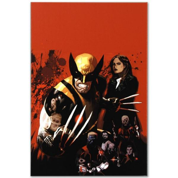 """Marvel Comics """"Fear Itself: Wolverine #1"""" Numbered Limited Edition Giclee on Canvas by Daniel Acuna"""