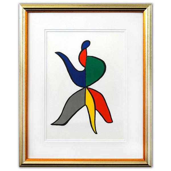 """Alexander Calder- Lithograph """"DLM141 - SABOT ET BONNET PHRYGIEN II"""""""