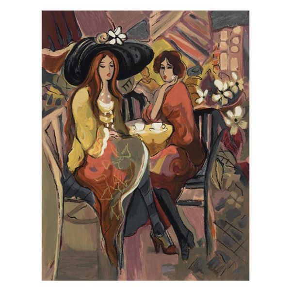 """Isaac Maimon, """"Reunion"""" Limited Edition Serigraph, Numbered and Hand Signed with Letter of Authentic"""