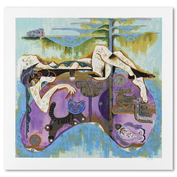 """Lu Hong, """"Magic"""" Limited Edition Serigraph, Numbered and Hand Signed with Letter of Authenticity"""