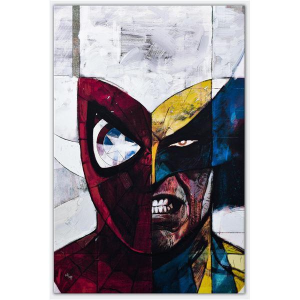 "Marvel Comics- Giclee on canvas ""Moon Knight #5"""