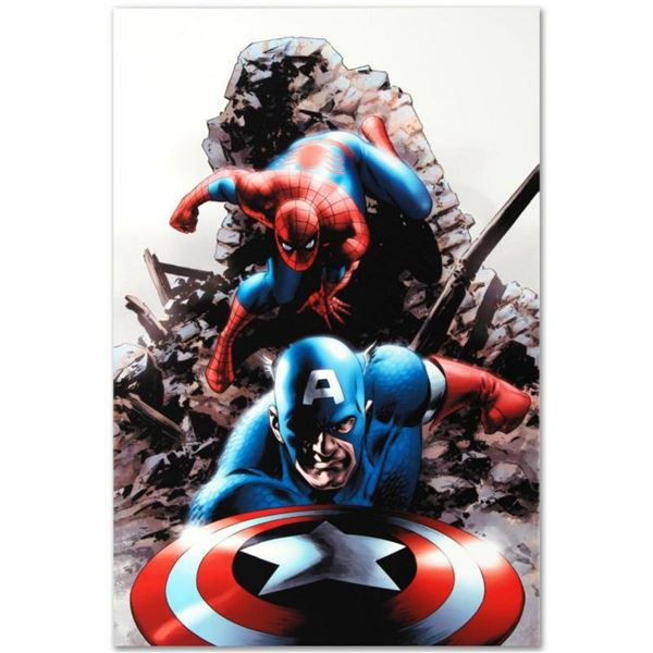 """Marvel Comics """"Spectacular Spider-Man #15"""" Numbered Limited Edition Giclee on Canvas by Steve Epting"""