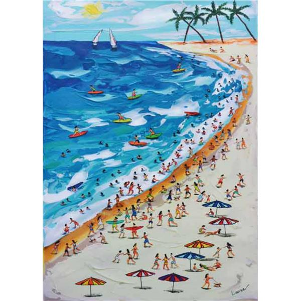 """Levina- Giclee on Canvas """"Levina-LE-01"""""""