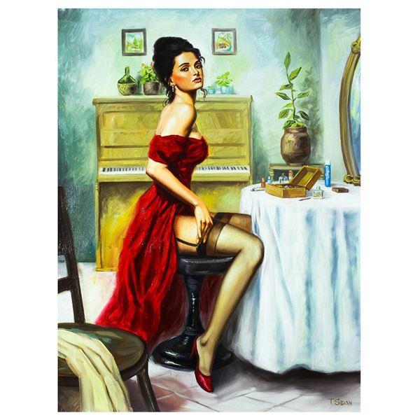"Taras Sidan- Original Oil on Canvas ""Graziana"""