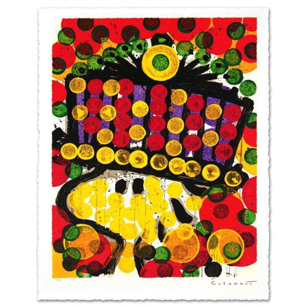"""""""Bird Of Paradise"""" Limited Edition Hand Pulled Original Lithograph by Renowned Charles Schulz Proteg"""