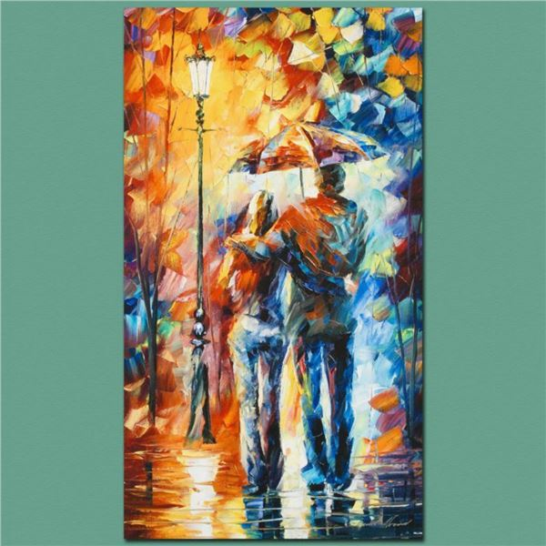 """Leonid Afremov (1955-2019) """"Warmth"""" Limited Edition Giclee on Canvas, Numbered and Signed. This piec"""