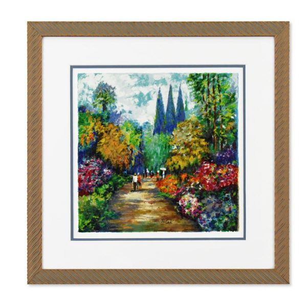 """Dimitri Polak (1922-2008), """"Spring Road"""" Framed Limited Edition Serigraph, Numbered 106/490 and Hand"""