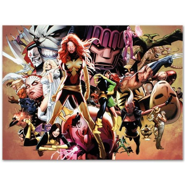 """Marvel Comics """"Uncanny X-Men #544"""" Numbered Limited Edition Giclee on Canvas by Greg Land with COA."""