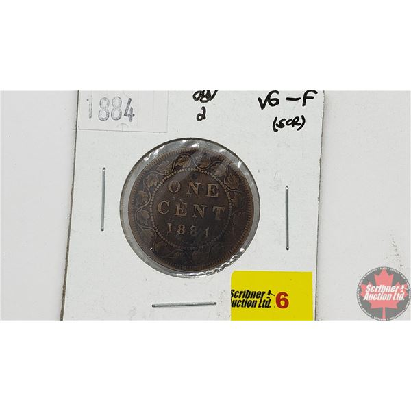 Canada Large Cent 1884