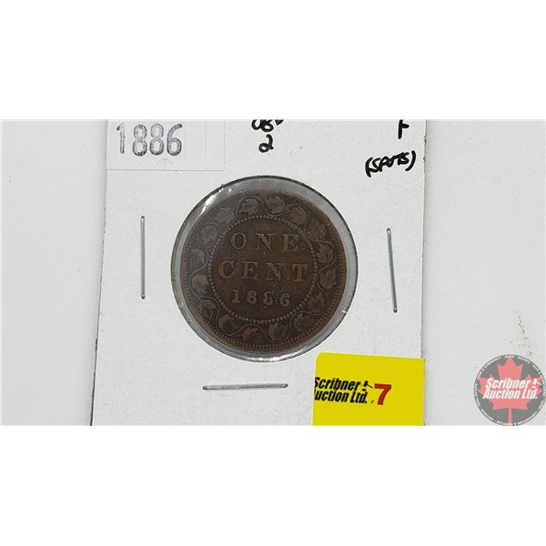 Canada Large Cent 1886