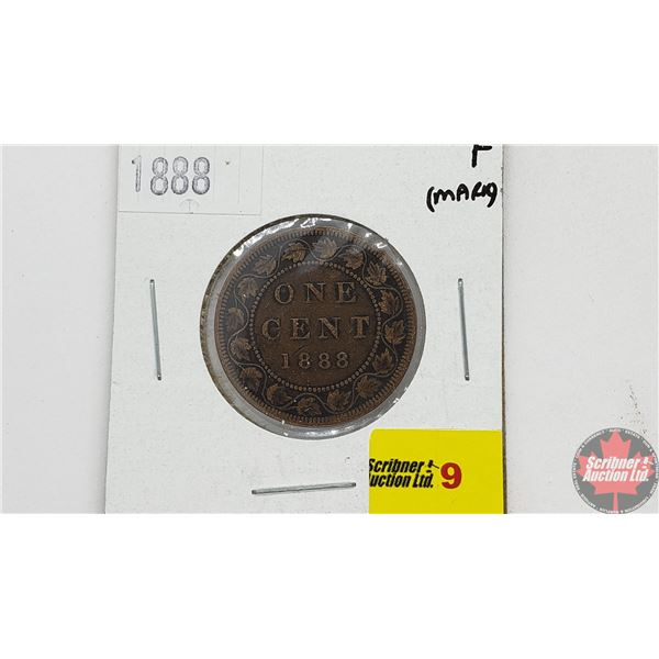 Canada Large Cent 1888