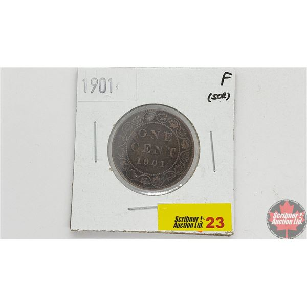 Canada Large Cent 1901