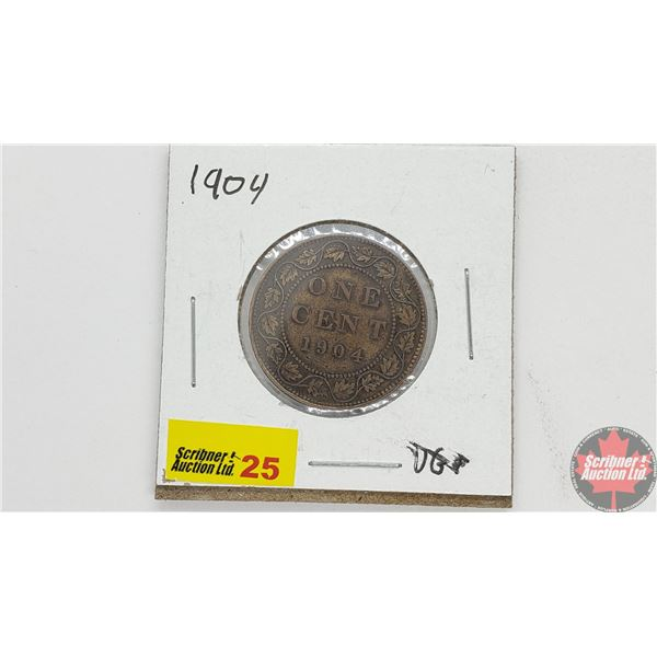 Canada Large Cent 1904