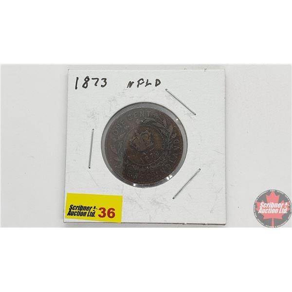 Newfoundland Large Cent 1873
