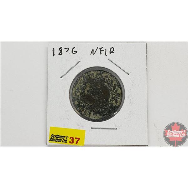 Newfoundland Large Cent 1876