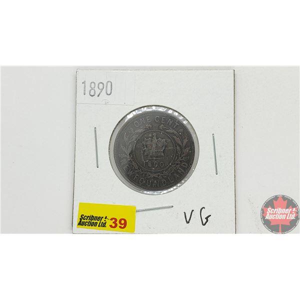 Newfoundland Large Cent 1890