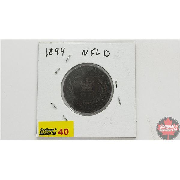 Newfoundland Large Cent 1894