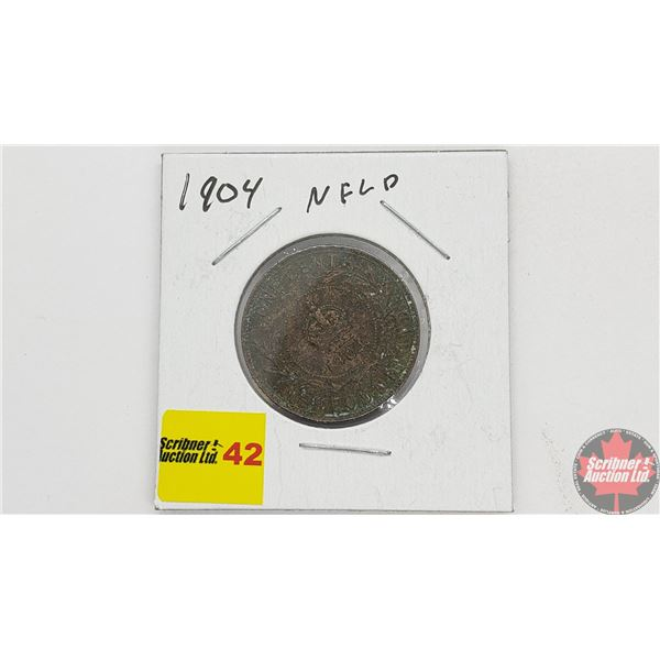 Newfoundland Large Cent 1904