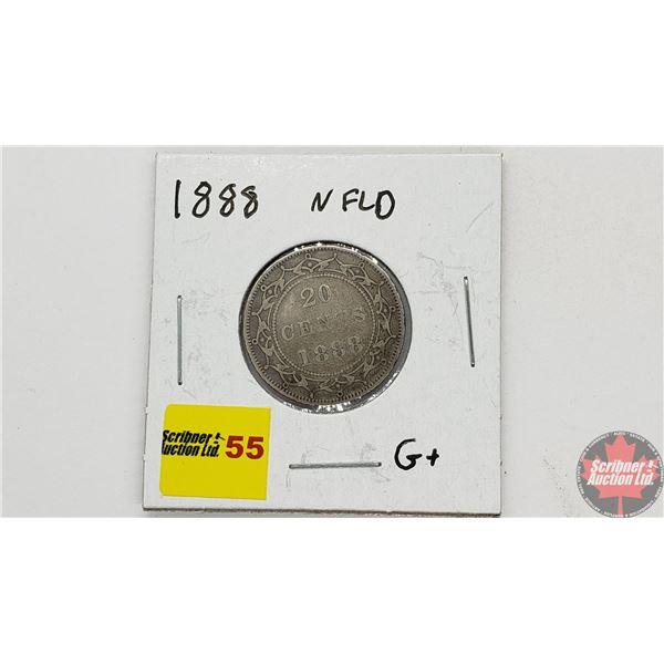 Newfoundland Twenty Cent 1888