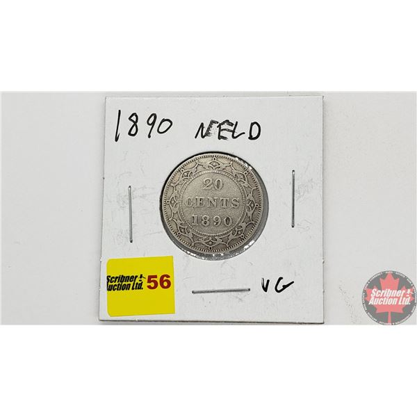 Newfoundland Twenty Cent 1890