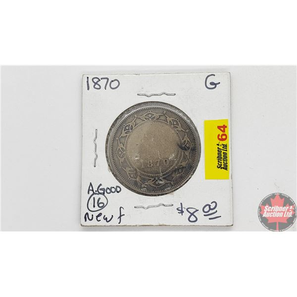 Newfoundland Fifty Cent 1870