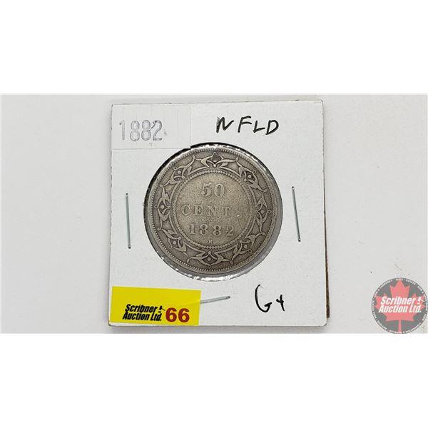Newfoundland Fifty Cent 1882