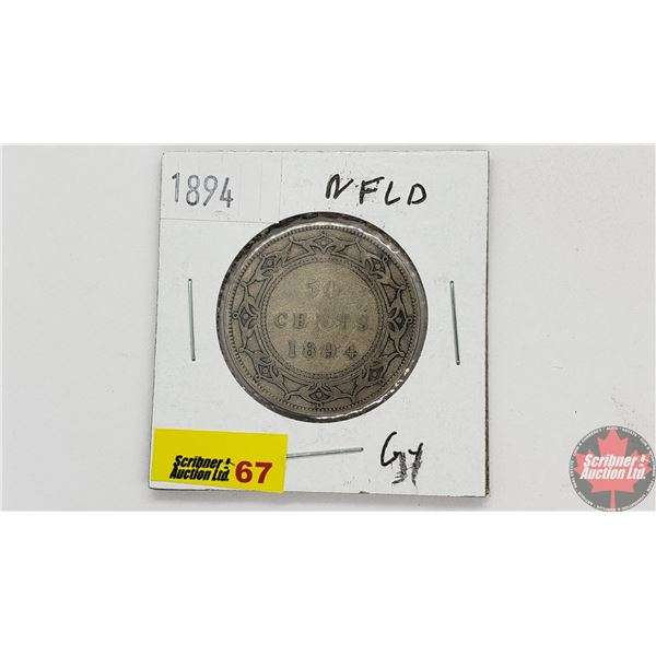 Newfoundland Fifty Cent 1894