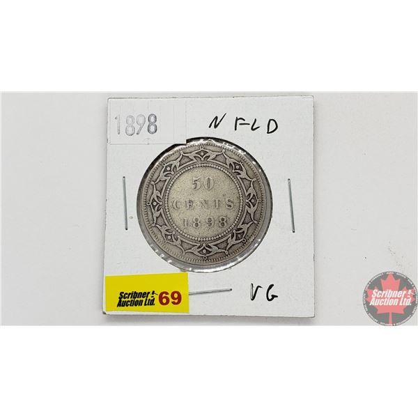 Newfoundland Fifty Cent 1898