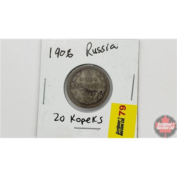 Russia 20 Kopeks 1906