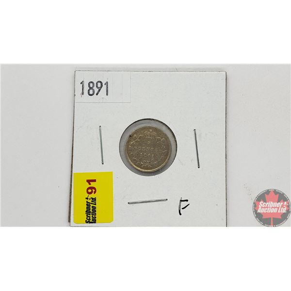 Canada Five Cent 1891
