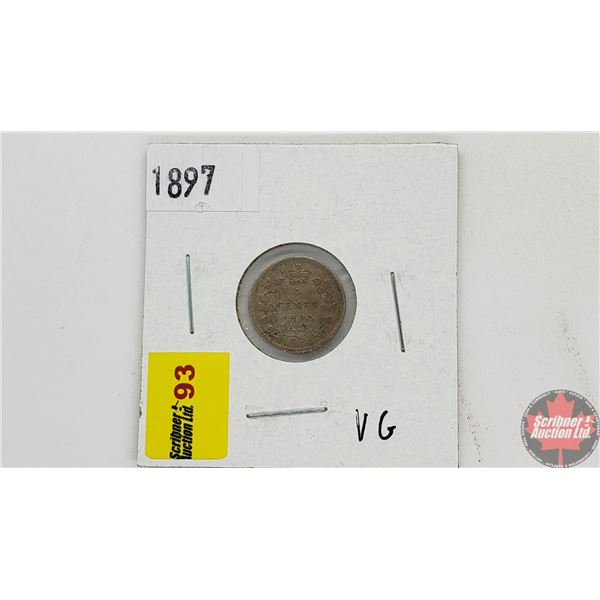 Canada Five Cent 1897