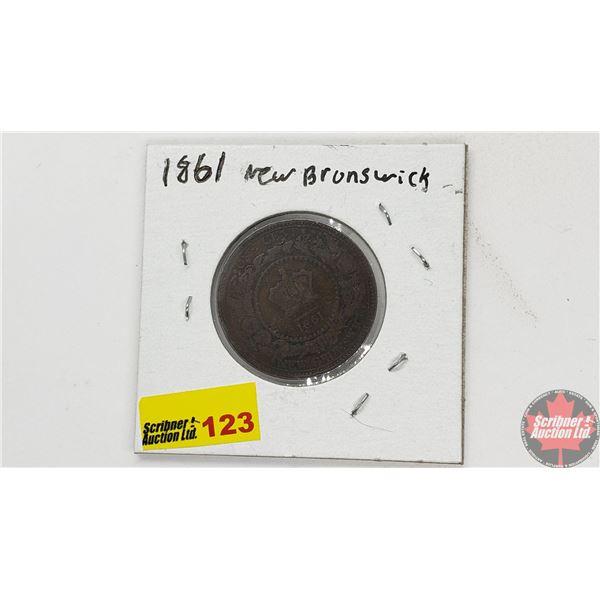 New Brunswick One Cent 1861