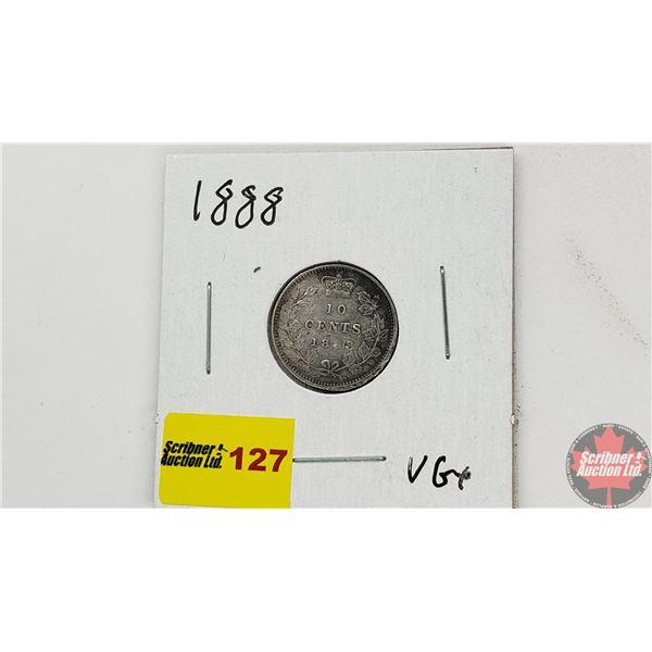 Canada Ten Cent 1888