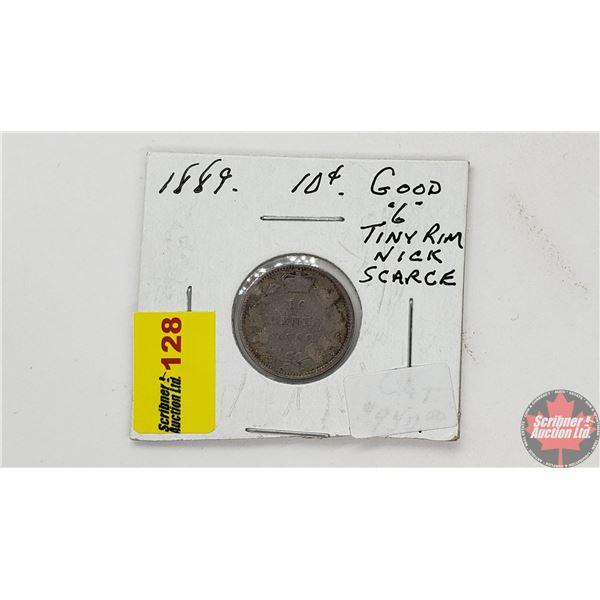 Canada Ten Cent 1889