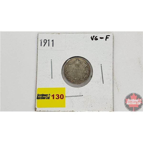 Canada Ten Cent 1911