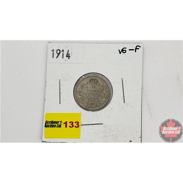 Canada Ten Cent 1914