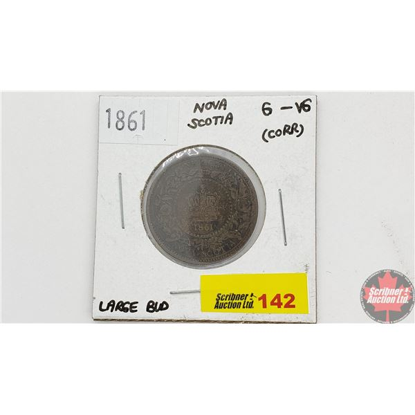 Nova Scotia One Cent 1861