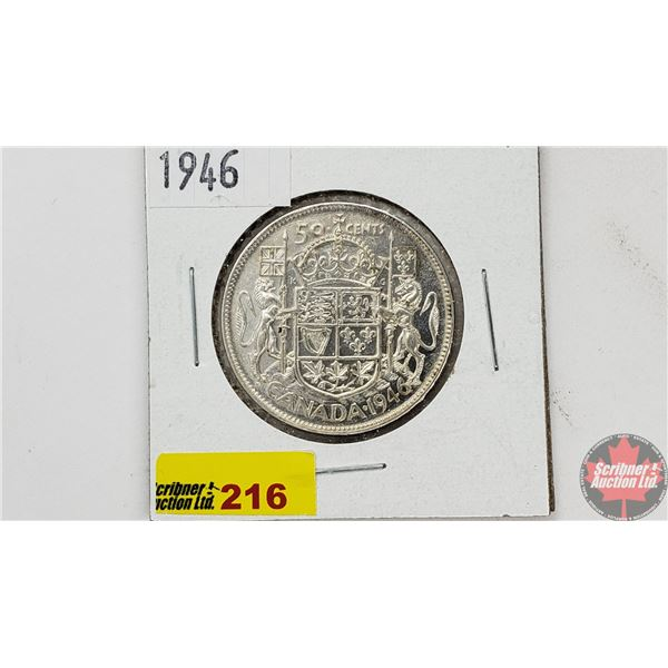 Canada Fifty Cent 1946