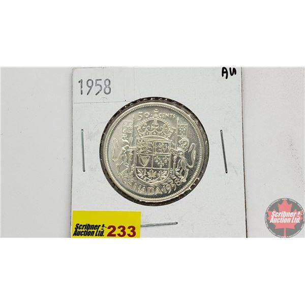 Canada Fifty Cent 1958