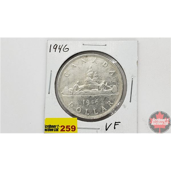Canada Silver Dollar 1946