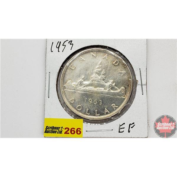 Canada Silver Dollar 1953