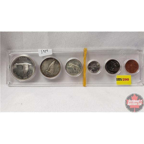Canada Year Set in Hardshell Case Centennial 1867-1967