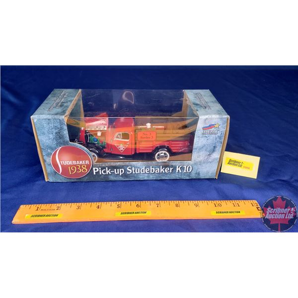 """Liberty Classics : Coin Bank (1938 Studebaker K10 Pick Up) """"Canadian Tire Corp'n"""" No. 3 Series 3 (Sc"""